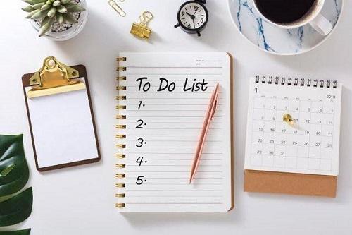 Lập kế hoạch chống stress