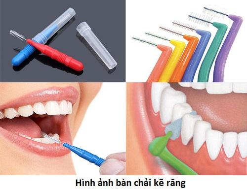 bàn chải kẽ răng dùng mấy lần