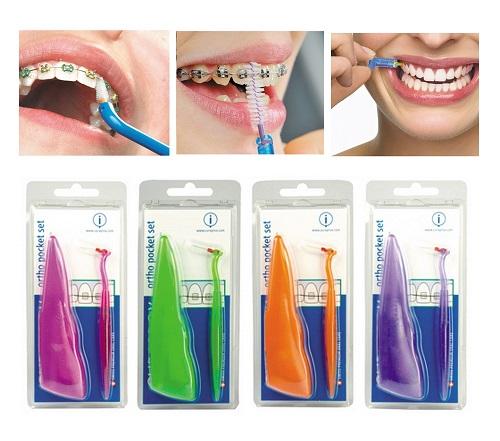 Cách dùng bàn chải kẽ răng curaprox