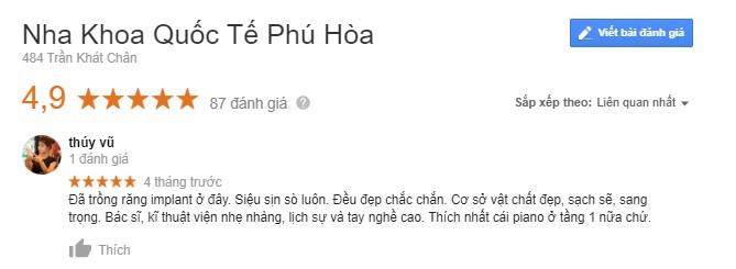 nha khoa Phú Hòa 6